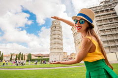 10 Astonishing Facts About Italy You Never Knew | Benvenutolimos Blog (info.giovannibenvenuto) Tags: pisa tower leaning woman italy europe travel tourist tuscany young happy landmark tourism vacation holiday summer caucasian european italian city traveler funny female girl people fun yellow hat touristic embrace hug factsofitaly italianfacts astonishingfactsaboutitaly mindblowingfactsaboutitaly theitalianmarques fashionbrandsfromitaly italianwines factsaboutitaly