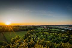 Wasserturm Baldegg (UpuautX) Tags: sony a7iii 1635mm baden baldegg wasserturm aussicht vista landschaft landscape sonnenuntergang sunset wald forest schweiz switzerland aargau ag
