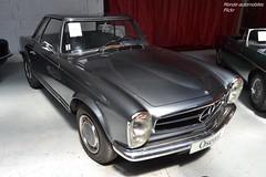 Mercedes 280 SL Pagode California 1968 (Monde-Auto Passion Photos) Tags: voiture vehicule auto automobile mercedes 280sl gris grey ancienne classique rare rareté collection vente enchère osenat france fontainebleau