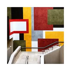 Galerie Tate Britain (Jean-Louis DUMAS) Tags: stair escalier peintre peinture muséum musée artiste artist artistique art architecture abstraction abstract abstrait cityartistsfreeart