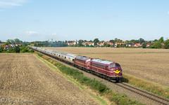 Nohab 1138 und 1151 mit DGS 89202 Zeitz - Kölleda bei Sömmerda (Emotion-Train) Tags: nohab clr rail cargo logistik my 1138 1151 pfefferminzbahn sömmerda kölleda getreidezug