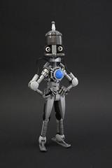 Osmi.Bot (TolerantAxe97) Tags: robot care moc metal cute silver mecha mech bionicle lego character design