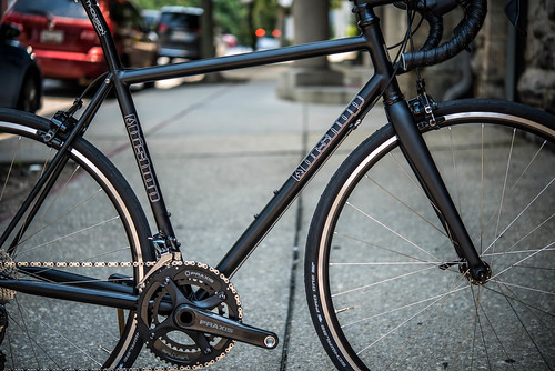 Joe's Stealth fillet brazed road bike