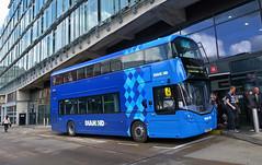 UK - Manchester bus (onewayticket) Tags: bus transport urban diamond diamondbus rotala wright streetdeck wrightstreetdeck so19mwf