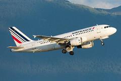 GVA | F-GRHM | Air France & Le Jura (Olivier Mouhot) Tags: lsgg gva 2019aug a319 fgrhm afr