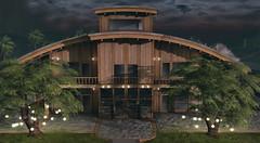 Quentyn Lodge (Ƙɨᴛᴛƴ Ɓᴀ́ʟσʀ) Tags: house luxery trompeloeil sl fameshed