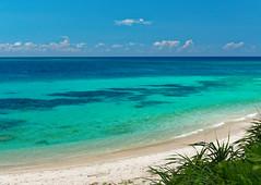 A Beach on Ikema Island (Nana* <salala817>) Tags: ikemaisland beach ocean sea okinawa japan blue イキヅービーチ ハート岩 沖縄 池間島 ビーチ 海 海岸 青