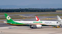 B-17883 EVA Airways Boeing 787-9 Dreamliner (airliners.sk, o.z.) Tags: airport vienna loww vie vieloww airplane boeing 787 7879 airline eva evaair airlinerssk