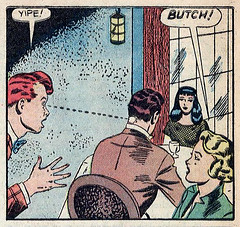 Yipe! Butch! (gameraboy) Tags: maltedmixup popularteenagers 7 1951 art normannodell 1950s vintage romance romancecomics comic comicbook butch yipe comicbookart illustration