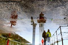 Saint-Vaast-la-Hougue (erichudson78) Tags: france normandie manche saintvaastlahougue reflets reflection canoneos6d seaside pier jetée borddemer phare lighthouse