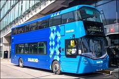 Diamond Bus SO19MWF (Mike McNiven) Tags: rotala diamond bus northwest manchester shudehill bolton interchange wright streetdeck