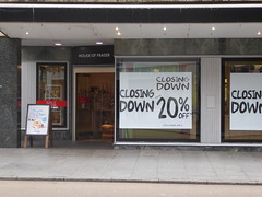 13 August 2019 Exeter (12) (togetherthroughlife) Tags: 2019 august devon exeter houseoffraser shop closingdown