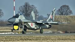 MiG-29A (kamil_olszowy) Tags: mig29a fulcrum fighter polish air force 65 epmb malbork królewo malborskie siły powietrzne rp 22blt миг29а изделие 912а ввс польши