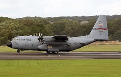 C130H  46705 (TF102A) Tags: aviation aircraft airplane prestwick prestwickairport usaf usairforce c130 c130h 46705 hercules