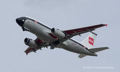 British Airways A319 ~ G-EUPJ (© Freddie) Tags: heathrow londonheathrow stanwell ba britishairways airbus a319 retro geupj lhr egll departure27l 27l fjroll ©freddie