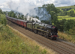 35018 Langcliffe 13-08-19 (prof@worthvalley) Tags: all types transport uk steam locomotive railway railroad 35018 settle carlisle british india line