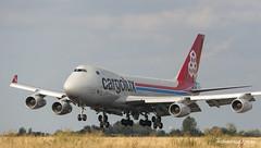 Boeing 747-400F Cargolux (Moments de Capture) Tags: boeing 747400f b747 747 cargolux lxvcv aircraft plane avion aeroport airport spotting lfpg cdg roissy charlesdegaulle onclejohn canon 5d mark3 5d3 mk3 momentsdecapture
