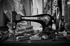 Singer (arbyreed) Tags: arbyreed monochrome blackandwhite bw machine sewingmachine singer vintagesingersewingmachine stilllife fabric sewing hobby millardcountyutah