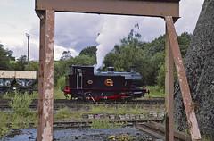 Carron no14 @ Foxfield 20-7-19 (drummerat30) Tags: carron iron falkirk company ab124511 foxfield railway