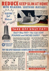 1951 Electric Spot Reducer vibrator (gameraboy) Tags: vibrator masturbate vintage ad ads advertising advertisement bikini woman vintagead vintageads 1951 1950s