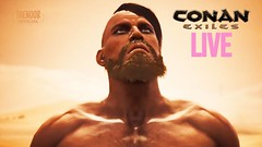 CONAN EXILES #LIVE  Let's Play! #01 (TheNoobOfficial) Tags: conan exiles live lets play 01 gaming youtube funny