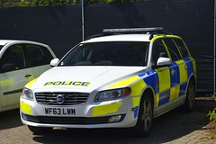 WF63 LWM (S11 AUN) Tags: devon cornwall police volvo v70 d5 anpr video equipped rpu roads policing unit traffic car 999 emergency vehicle wf63lwm