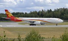 Hainan B-6520, OSL ENGM Gardermoen (Inger Bjørndal Foss) Tags: b6520 hainan airbus a330 osl engm gardermoen
