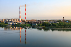 Industrial part of Kemerovo city (man_from_siberia) Tags: canon eos 5d dslr canoneos5d canon5d canon5dclassic fullframe canonef40mmf28stm pancakelens primelens siberia russia сибирь россия 2019 city город kemerovo кемерово лето август summer august outdoors outdoor industry industrial water river riverside riverbank reflection rivertom tomriver evening промышленность landscape пейзаж городскойпейзаж индустриальныйпейзаж томь река вода берег отражение вечер