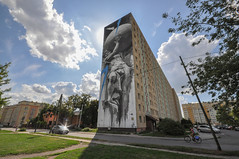 Thirty meters mural (rafasmm) Tags: łódź lodz poland polska europe mural graffiti art city citynature street streets streetart streetphotography urban landscape color outdoor nikon d90 sigma 1020 ex