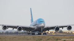 Airbus A380-800 Korean Air (Moments de Capture) Tags: airbus a380800 380 koreanair hl7621 aircraft plane avion aeroport airport spotting lfpg cdg roissy charlesdegaulle onclejohn canon 5d mark3 5d3 mk3 momentsdecapture