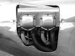 AVCO LYCOMING (Megashorts) Tags: oldwarden bedfordshire england uk aviation aeroplane aeroplanes plane planes aircraft flying history museum olympus omd em1 mzd shuttleworth 40150mm f28 pro 2019 isaacsfury engine monotone bw lycoming