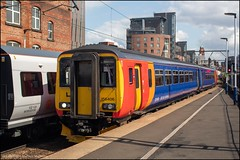 East Midlands Trains 156406 (Mike McNiven) Tags: eastmidlandstrains stagecoach eastmidlandsrailwayemr liverpool limestreet manchester deansgate nottingham sprinter supersprinter dmu diesel multipleunit eastmidlands