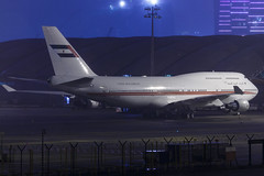 Dubai Air Wing Royal Flight B747-400M A6-COM 001 (A.S. Kevin N.V.M.M. Chung) Tags: aviation aircraft aeroplane airport airlines apron plane spotting night mfm macauinternationalairport macau boeing b747400 b747 queen jumbo jet