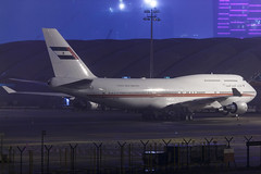 Dubai Air Wing Royal Flight B747-400M A6-COM 004 (A.S. Kevin N.V.M.M. Chung) Tags: aviation aircraft aeroplane airport airlines apron plane spotting night mfm macauinternationalairport macau boeing b747400 b747 queen jumbo jet