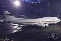 Dubai Air Wing Royal Flight B747-400M A6-COM 003 (A.S. Kevin N.V.M.M. Chung) Tags: aviation aircraft aeroplane airport airlines apron plane spotting night mfm macauinternationalairport macau boeing b747400 b747 queen jumbo jet