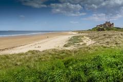 Bamburgh, Northumberland (DM Allan) Tags: bamburgh farneislands northumberland beach coast seaside whinsill