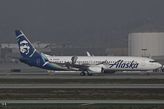 N280AK LAX 23.12.2018 (Benjamin Schudel) Tags: n280ak boeing 737800 alaska airlines lax los angeles california international airport