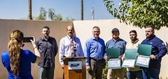 ADOT; Arizona Department of Transportation (Arizona Department of Transportation) Tags: srp saltriverproject air recognition watertruck i10fire phoenix az usa