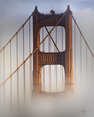 Fogust in SF (ashpmk) Tags: sanfrancisco sanfran sf sfo fog foggy goldengate gg goldengatebridge bridge august summer