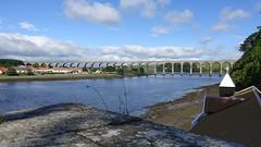 The Royal Border Bridge, Berwick-upon-Tweed (David Jones) Tags: northumberland berwickupontweed royalborderbridge viaduct railway bridge river tweed eastcoastmainline