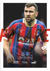 Crystal Palace v Everton 2019-20 (Bob Latchford) Tags: crystal palace versus everton football programme 10th august 2019 james mcarthur