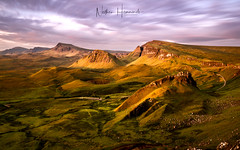 Pink Skye in the morning!! (Nathan J Hammonds) Tags: quiraing isle skye scotland landscape pink sky clouds long exposure sunrise summer nd filter lee filters nikon d850 road trip holiday beautiful peaceful