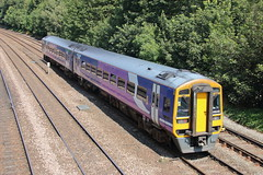 158848 (8) (ANDY'S UK TRANSPORT PAGE) Tags: trains chesterfield class158 northern arn arrivarailnorth