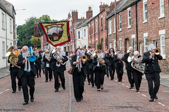 Durham  Miners Gala 2019 (Cerdic Elesing) Tags: england banner marching thurcroftband performing countydurham brassband durham thornleylodge durhamminersassociation object