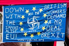 Durham  Miners Gala 2019 (Cerdic Elesing) Tags: kodakektar england banner nato countydurham durhamminersassociation protest eu durham object xequals
