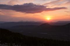 Закат (Sunset) (Kirill & K) Tags: avalyak ridge south ural mountains summer wild nature landscape rock fir trees хребет аваляк южный урал горы лето скалы дикий лес камни природа пейзаж sunset закат