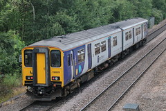 150220 (4) (ANDY'S UK TRANSPORT PAGE) Tags: trains chesterfield arn arrivarailnorth northern class150