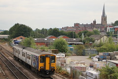 150220 (3) (ANDY'S UK TRANSPORT PAGE) Tags: trains chesterfield arn arrivarailnorth northern class150