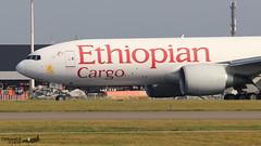 Boeing 777 -F6N ETHIOPIAN CARGO ET-APS 41846 Bruxelles aout 2019 (Thibaud.S.) Tags: boeing 777 f6n ethiopian cargo etaps 41846 bruxelles aout 2019