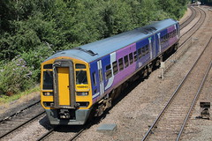 158843 (12) (ANDY'S UK TRANSPORT PAGE) Tags: trains chesterfield class158 northern arn arrivarailnorth